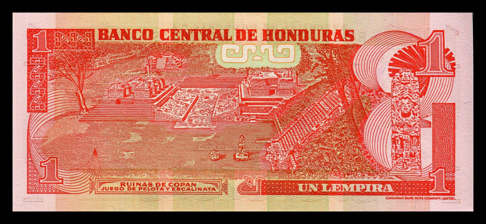 Billete Honduras 1 Lempira (2006) – NUMISMÁTICA MARTELL