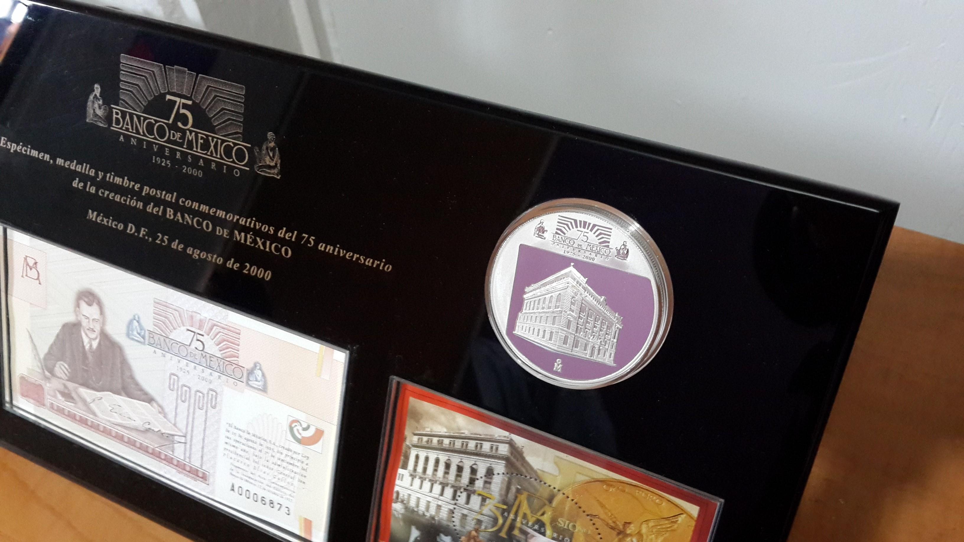 0817d4c46f76 Set 75 Aniversario de Banco de México – NUMISMÁTICA MARTELL